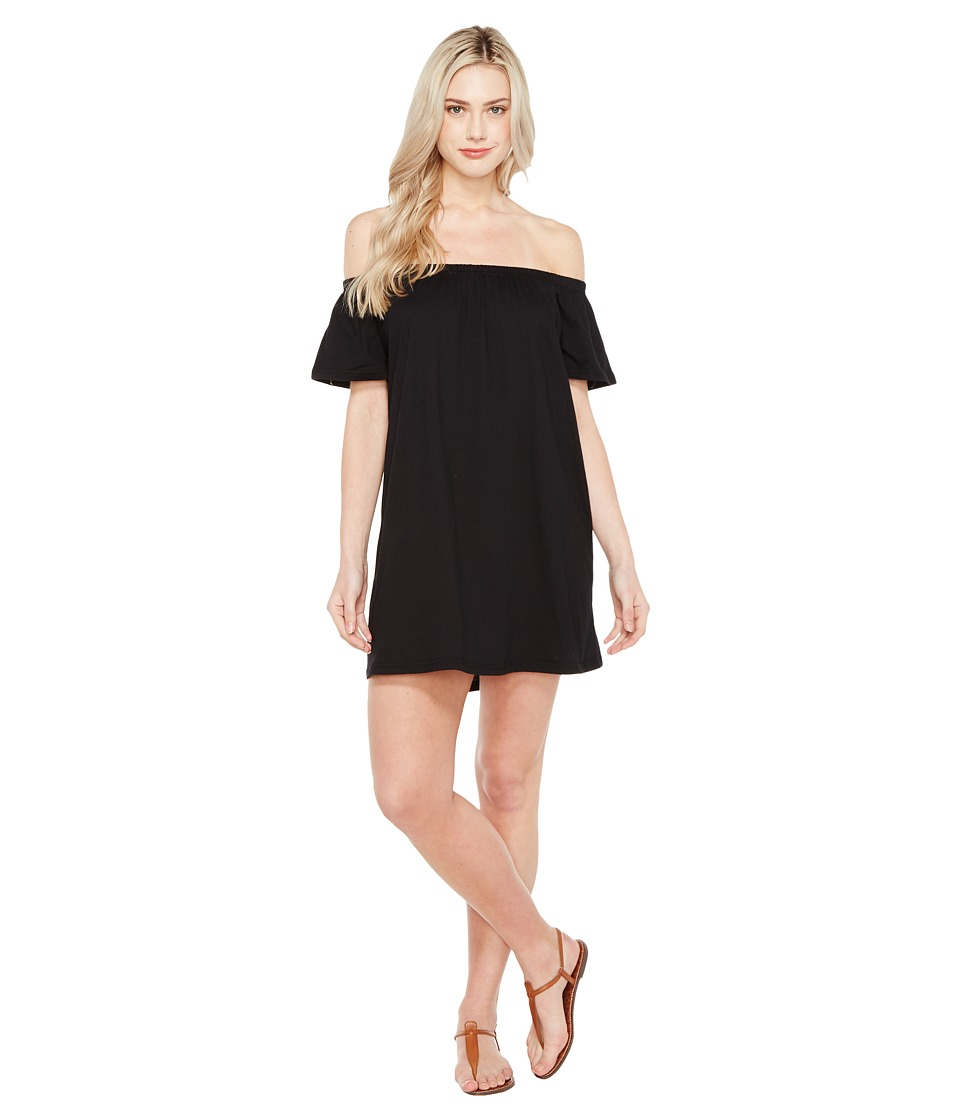 Culture Phit - Oriana Off the Shoulder Dress (Black) Women's Dress