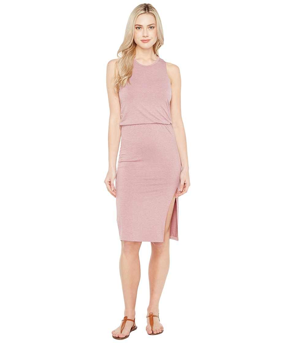 Culture Phit Bisette Sleeveless Midi Dress with Side Slit (Dusty Purple) Women