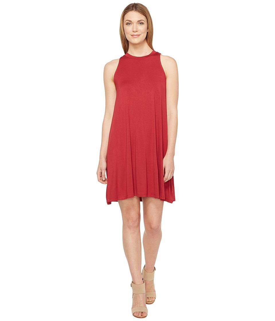 Culture Phit - Toni Sleeveless Dress (Cranberry) Women's Dress
