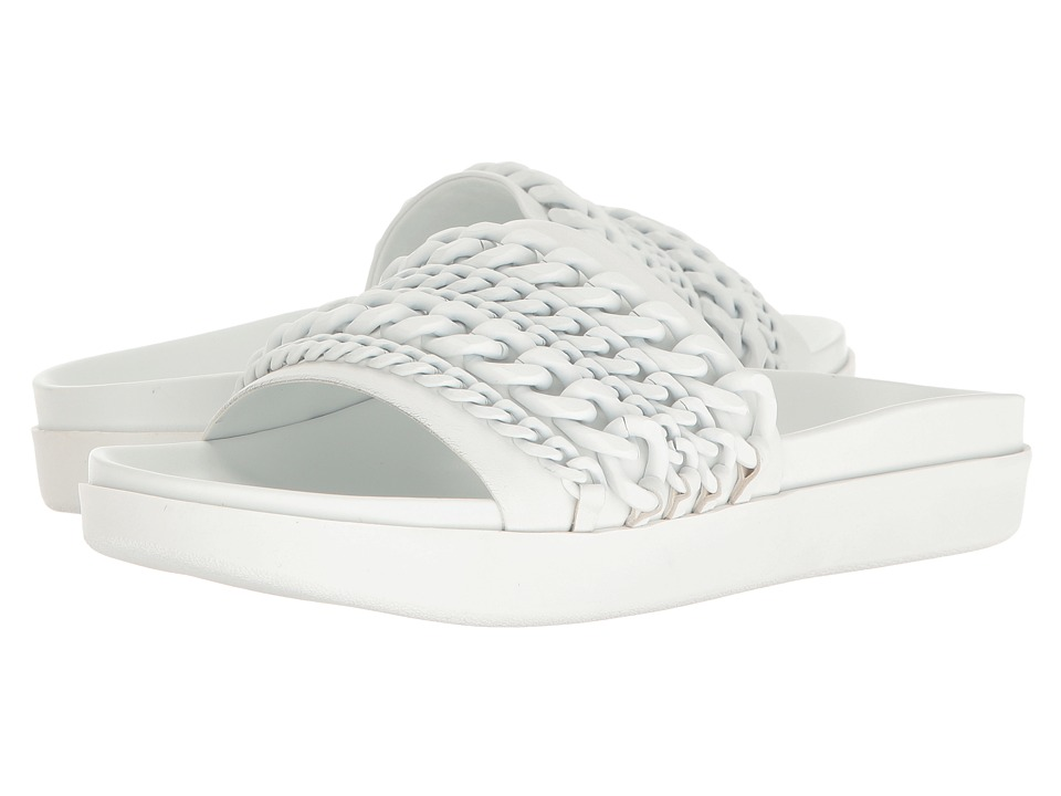 KENDALL + KYLIE - Shiloh (White Leather) Women's Shoes