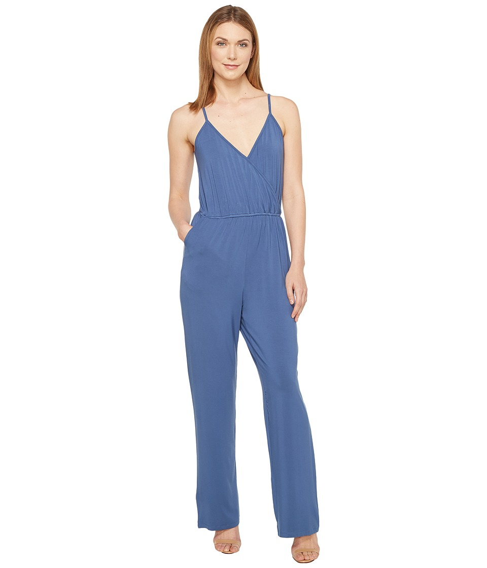 Culture Phit - Comfy Luna Jumper (Blue) Women's Jumpsuit & Rompers One Piece