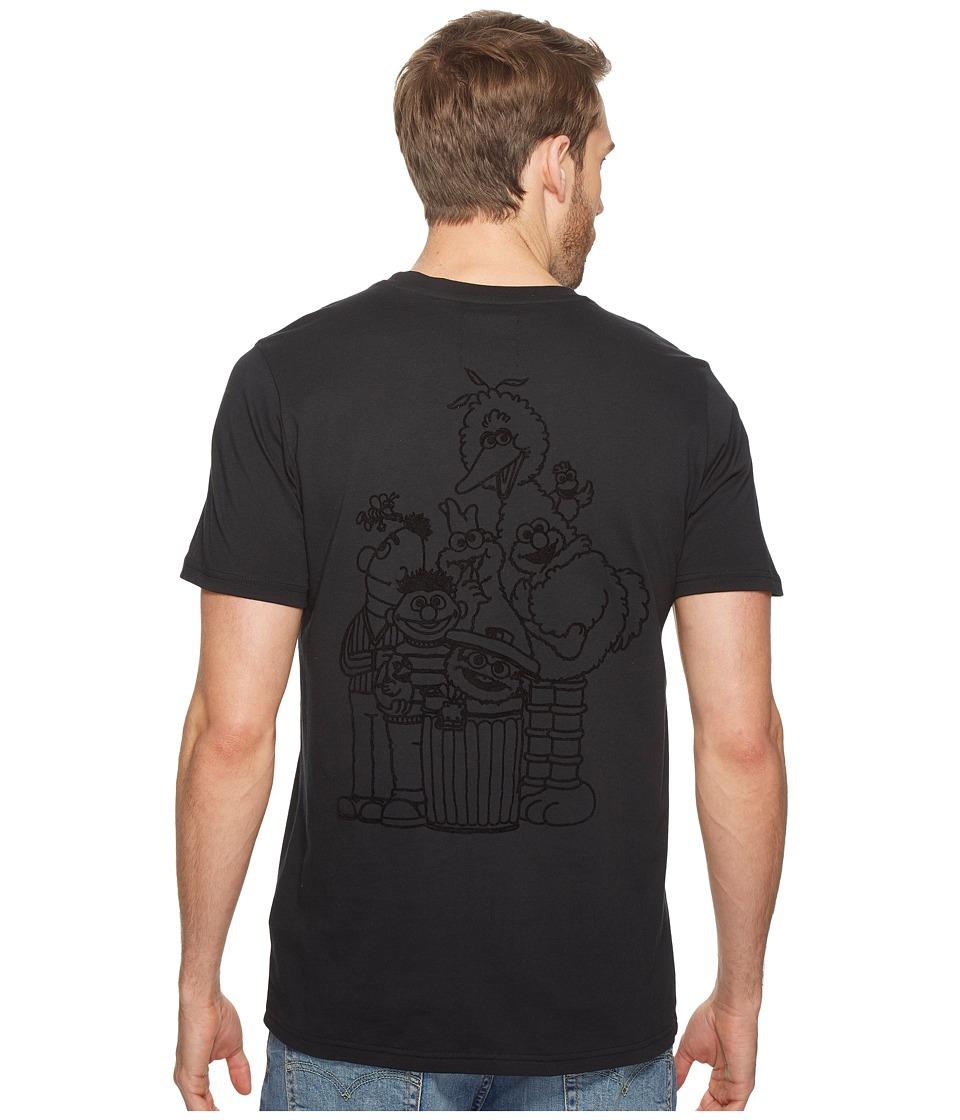 PUMA - Sesame Street Tee (Black) Men's T Shirt