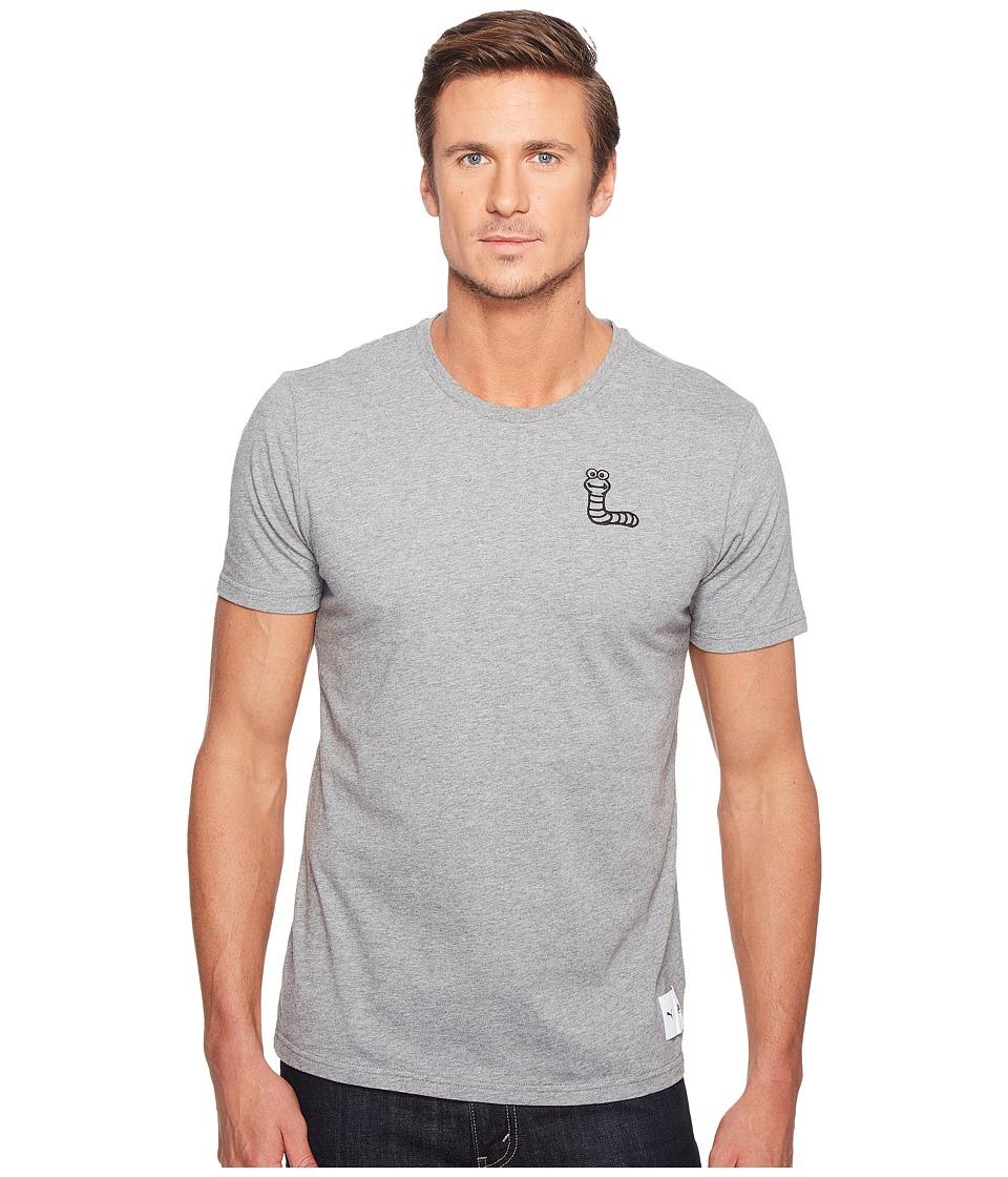 PUMA - Sesame Street Tee (Medium Gray Heather) Men's T Shirt