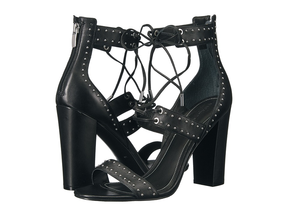 KENDALL + KYLIE - Dawn (Black Leather) High Heels