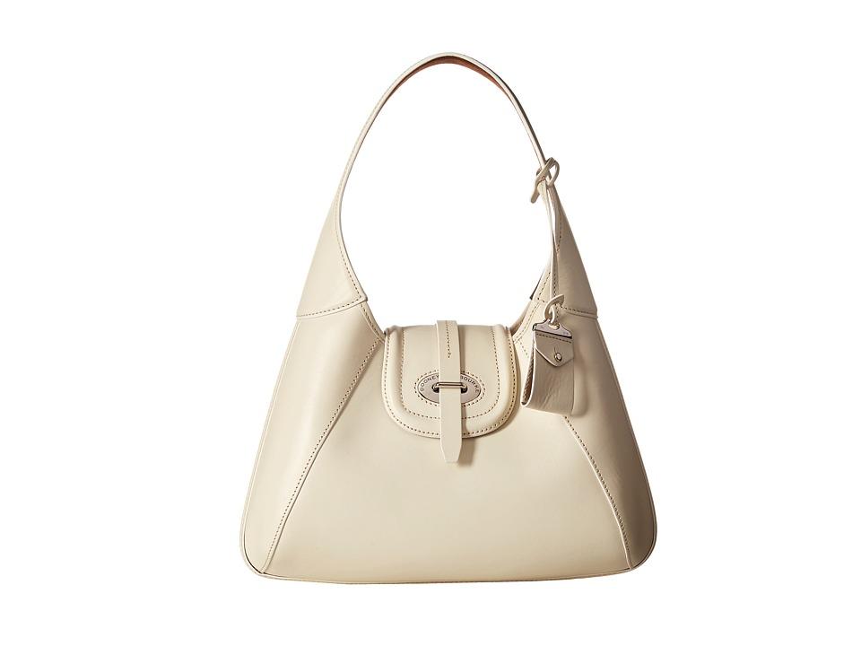 Dooney & Bourke - Florentine Front Stitch Hobo (Bone/Self Trim) Hobo Handbags