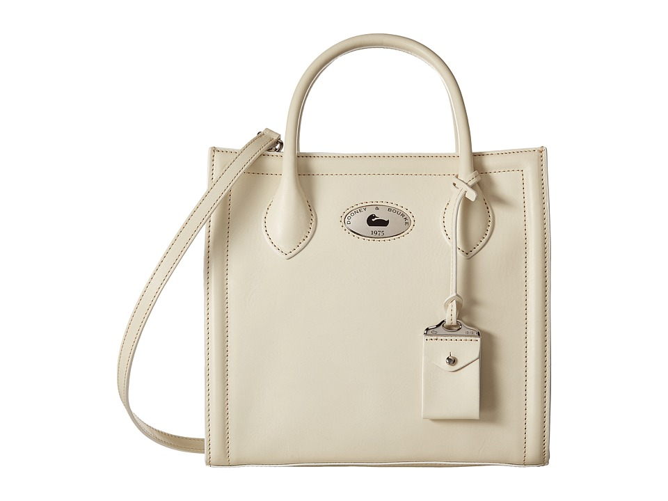 Dooney & Bourke - Florentine Handheld Tote (Bone/Self Trim) Tote Handbags