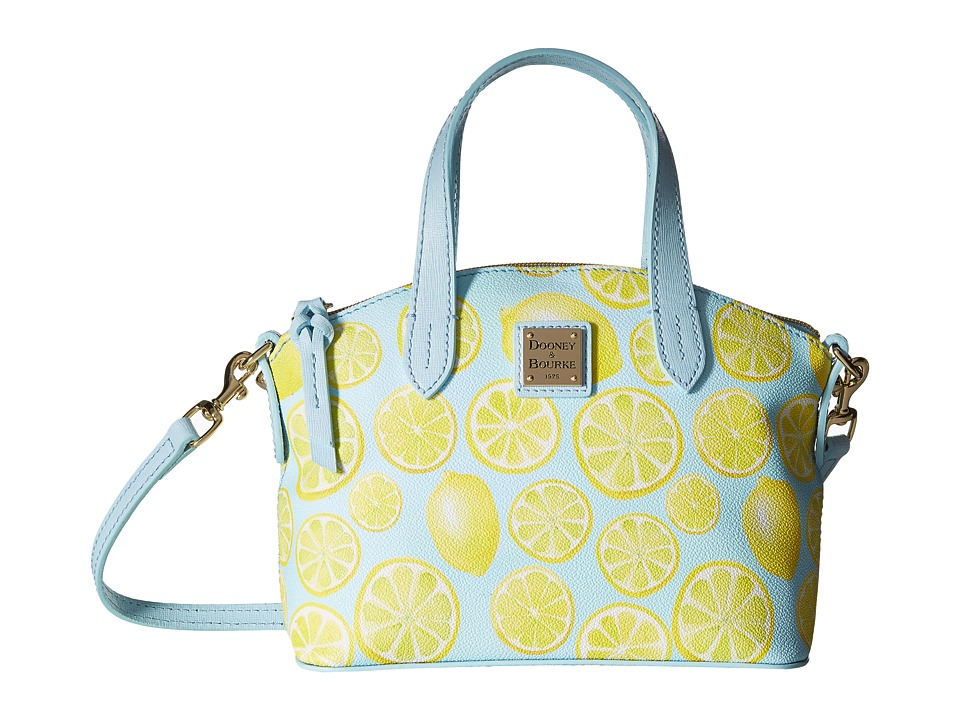 Dooney & Bourke - Limone Ruby Bag (Sky/Pale Blue Trim) Handbags