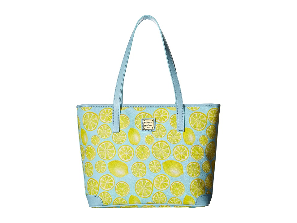 Dooney & Bourke - Limone Charleston Shopper (Sky/Pale Blue Trim) Handbags