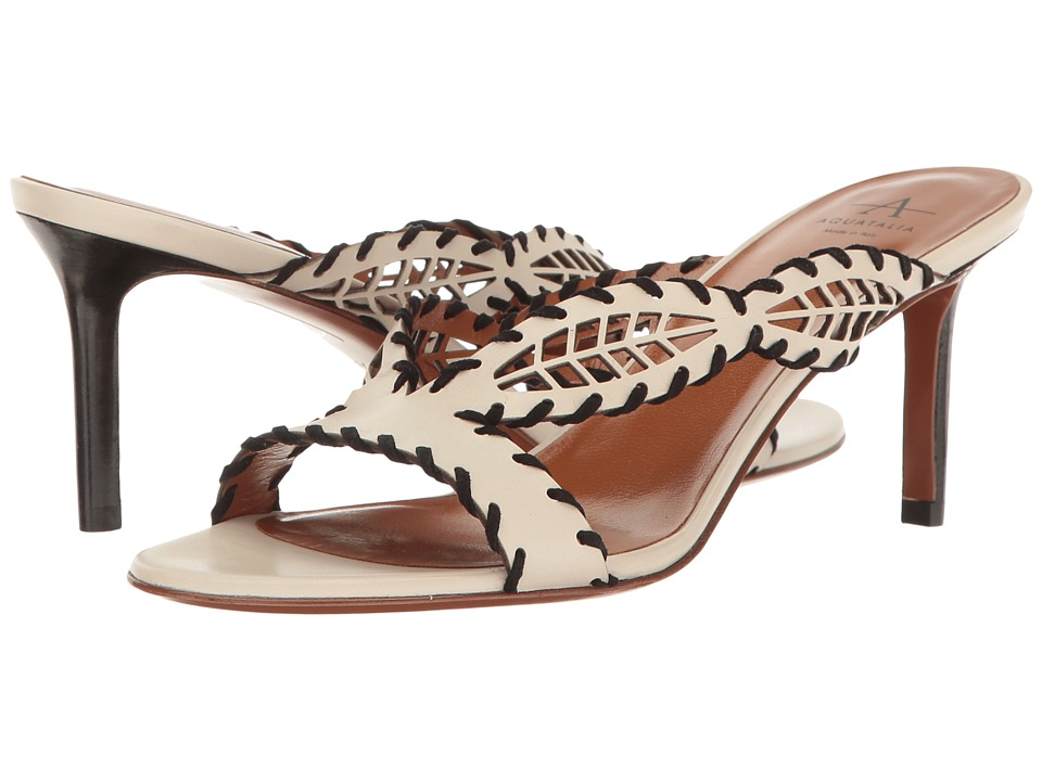 Aquatalia Natia (Ivory/Black Calf) Women