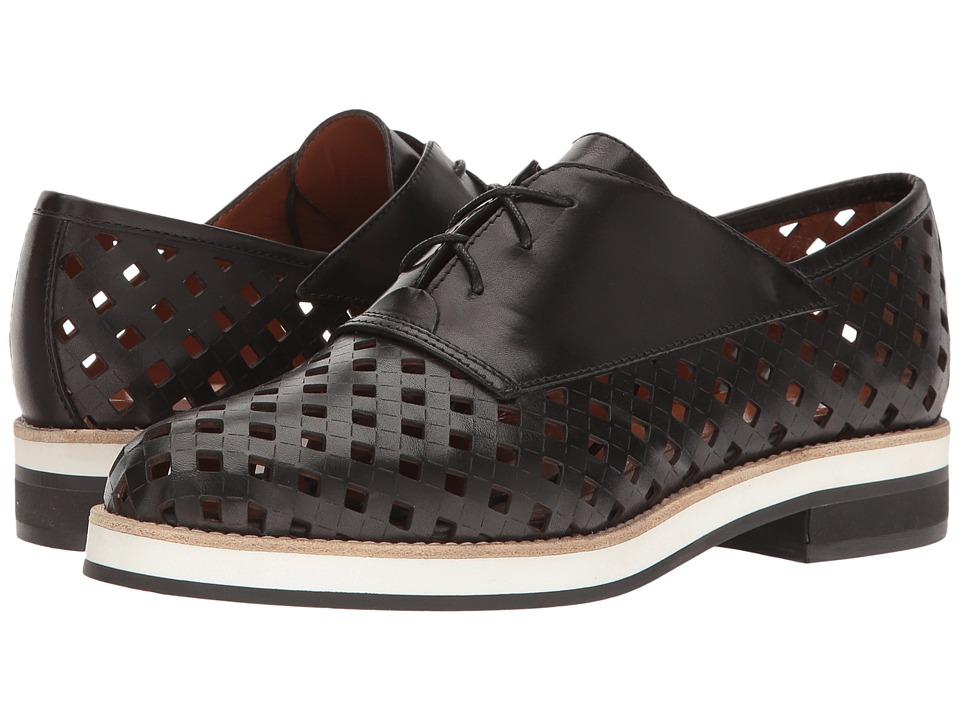 Aquatalia - Zaira (Black Perforated Calf) Women's Shoes