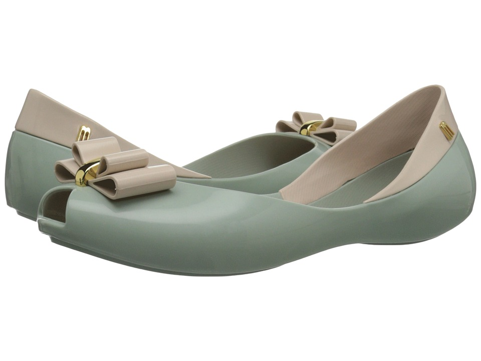 Melissa Shoes - Queen V (Green) Women's Shoes
