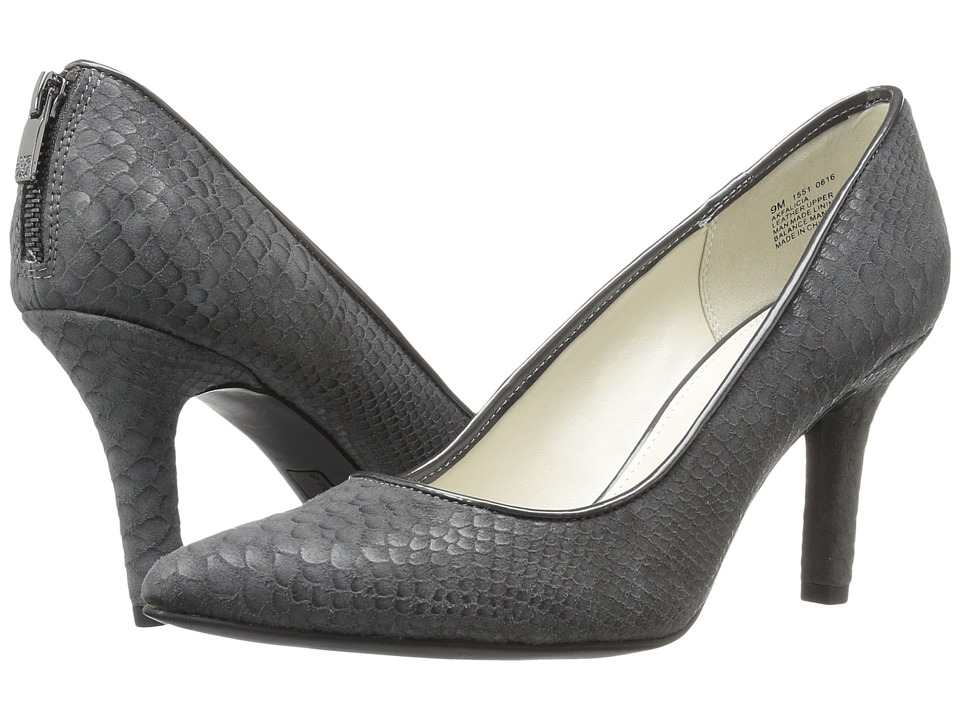 Anne Klein Falicia (Dark Grey Reptile 2) High Heels