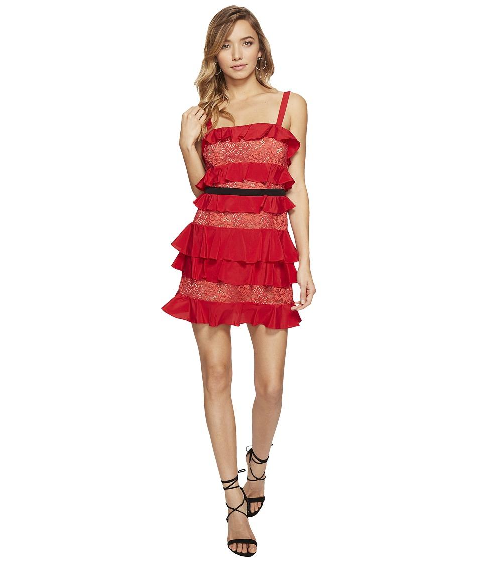 For Love and Lemons - Chianti Tank Dress (Red Hot) Women's Dress