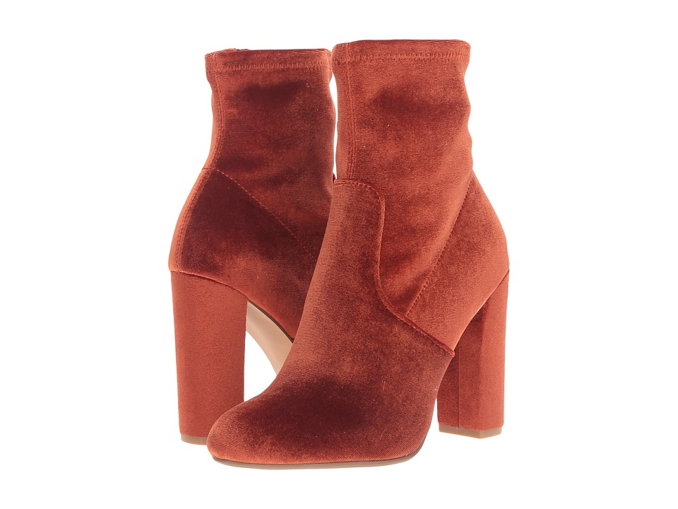Steve Madden Edit (Rust Velvet) Women