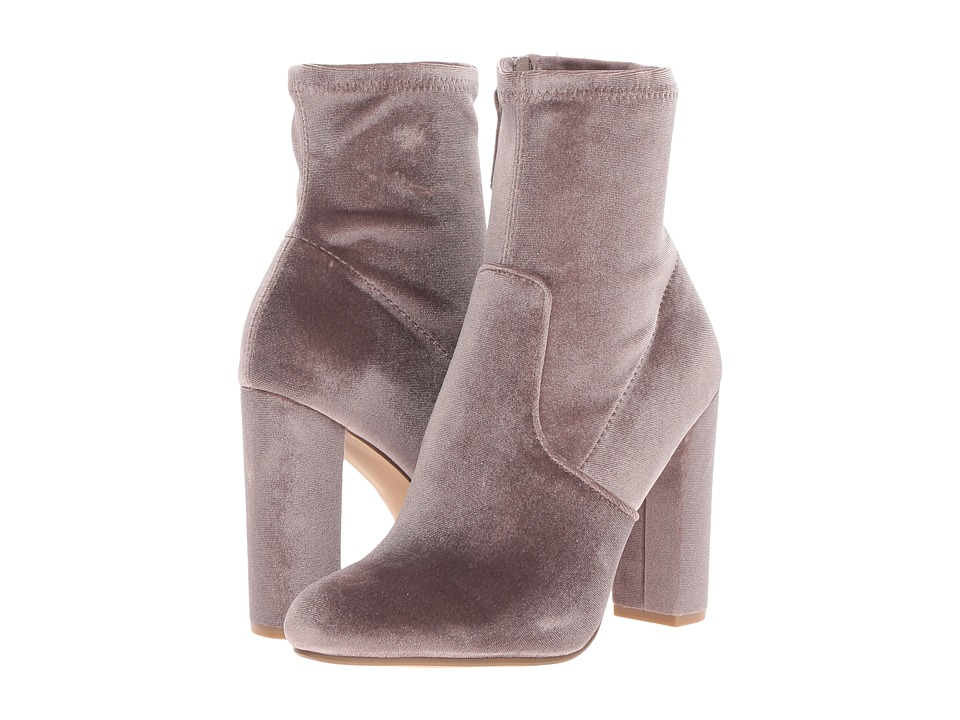 Steve Madden Edit (Grey Velvet) Women's Boots