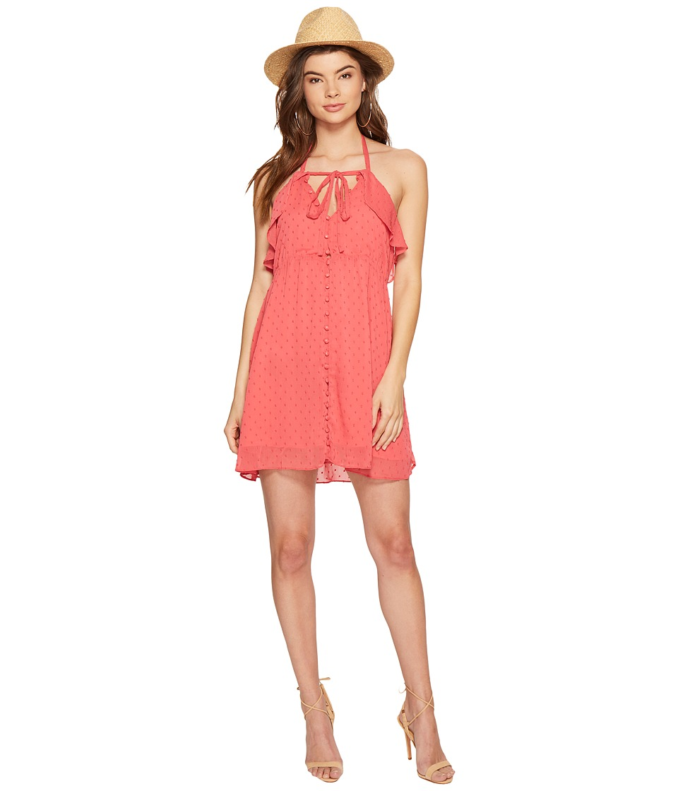 For Love and Lemons Tarta Tank Dress (Flamingo) Women