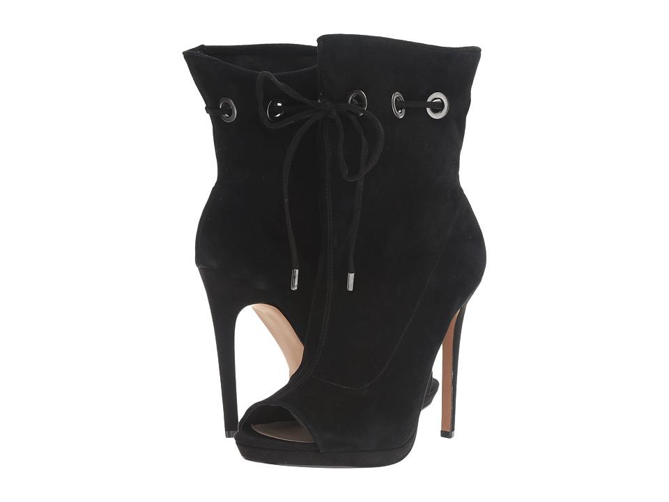 Steve Madden - Cavalier (Black Suede) Women's Shoes