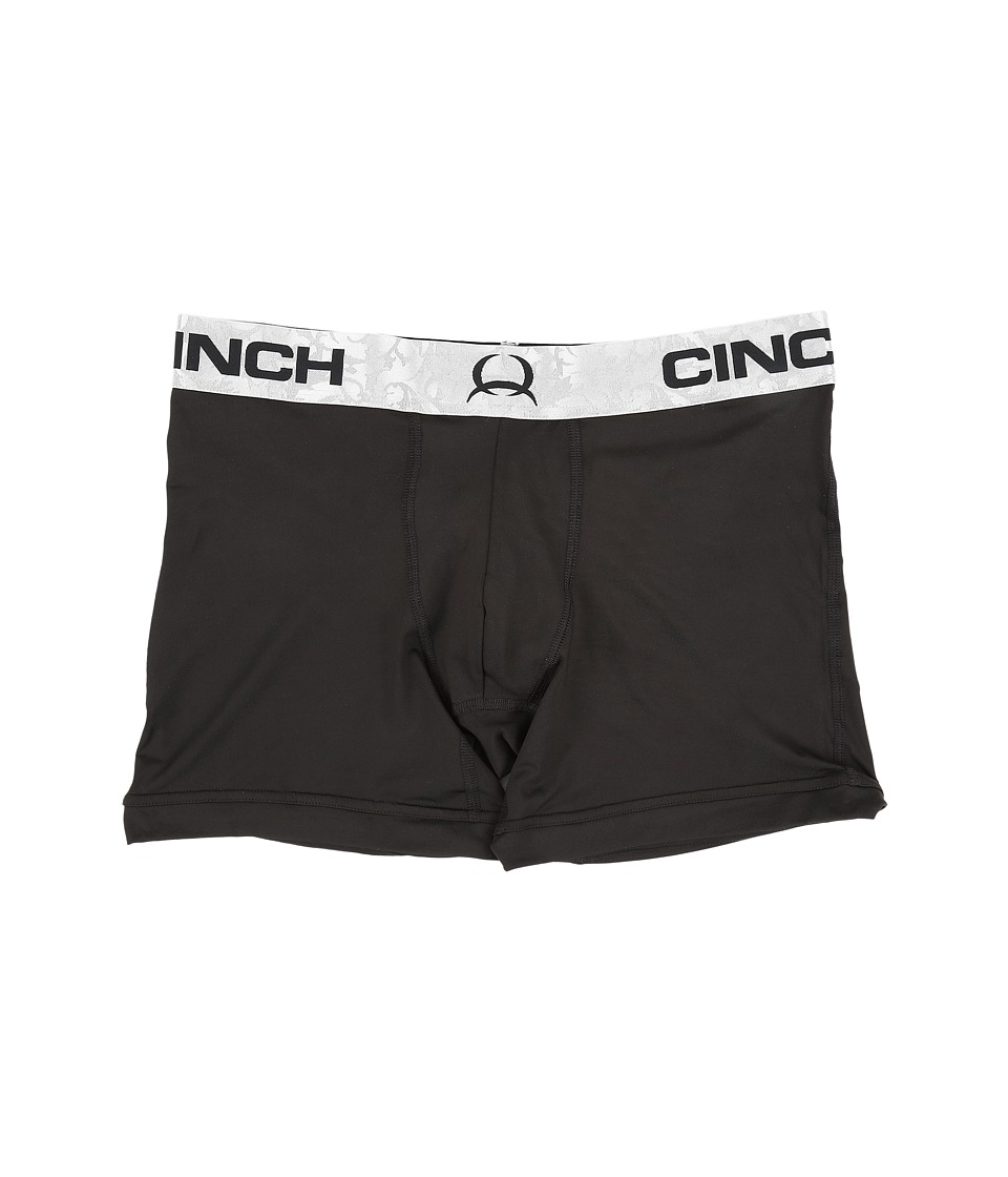 Cinch - Print Boxer 6 Briefs (Black) Men's Underwear