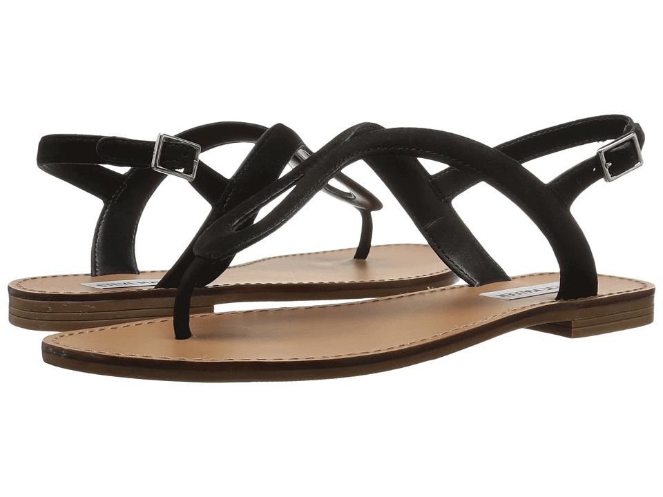 Steve Madden - Takeaway (Black Nubuck) Women's Shoes