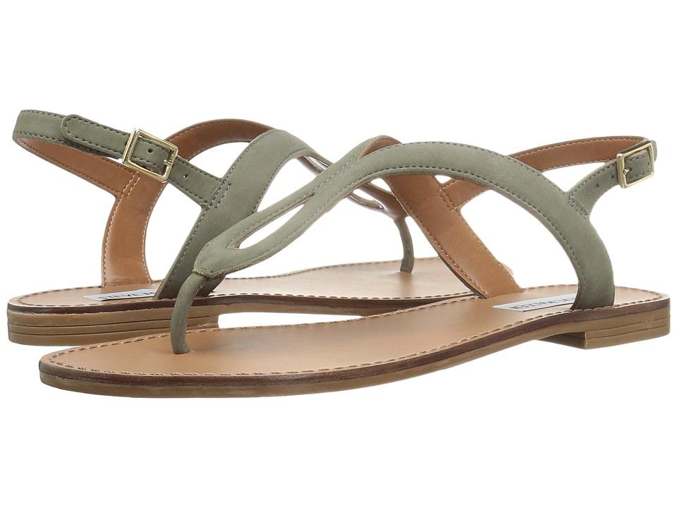 Steve Madden - Takeaway (Olive Nubuck) Women's Shoes