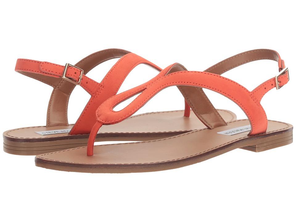 Steve Madden - Takeaway (Orange Nubuck) Women's Shoes