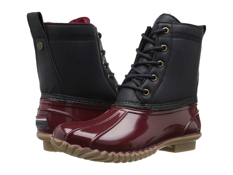Tommy Hilfiger - Hail (Marine/Rich Merlot) Women's Shoes