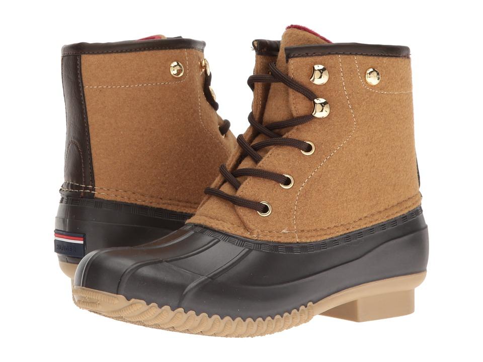Tommy Hilfiger - Retina3 (Roast Espresso/Camel) Women's Shoes