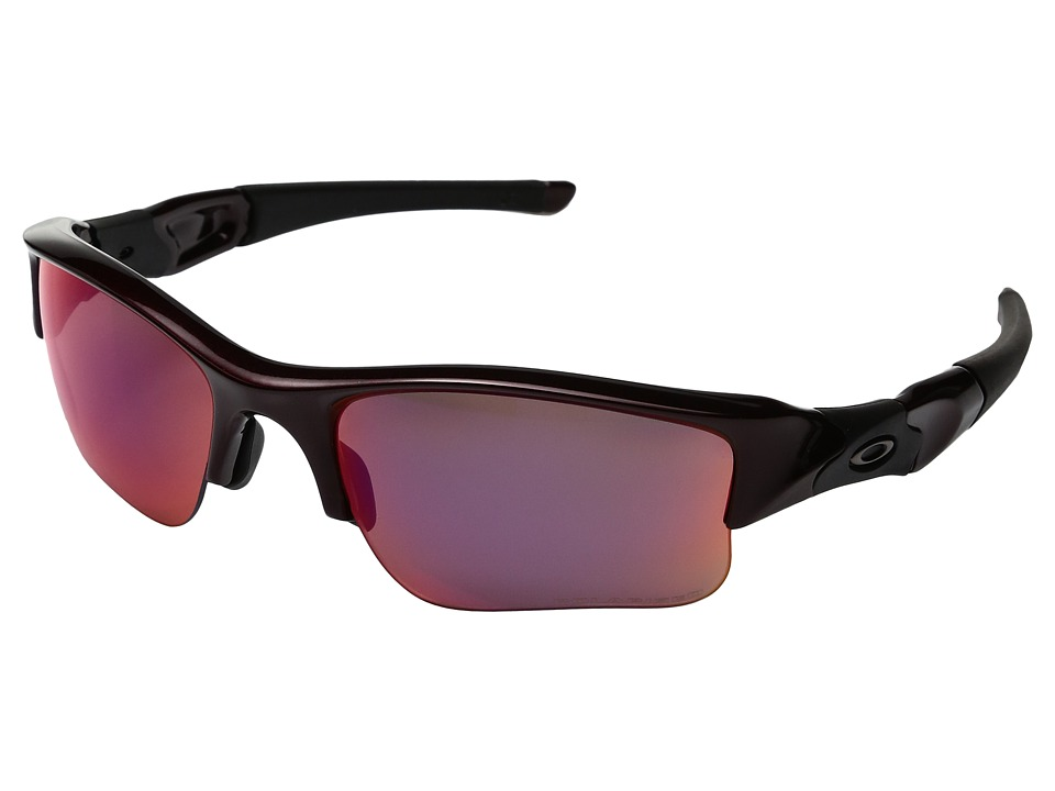 Oakley - MPH Flak Jacket XLJ Polarized (Metallic Red w/ Red) Sport Sunglasses
