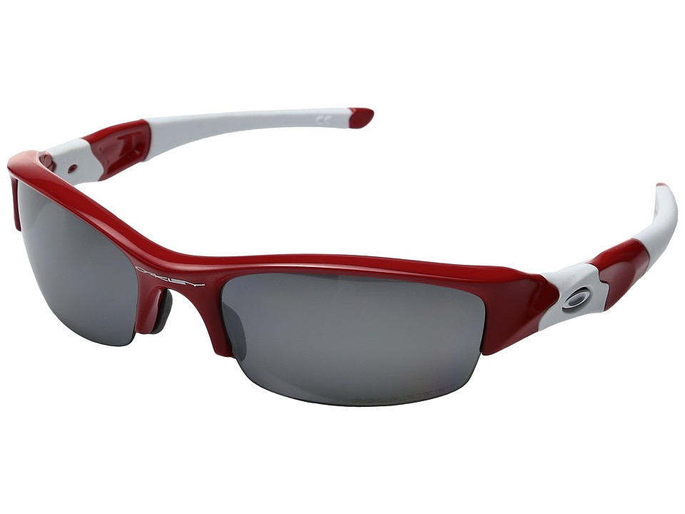 Oakley - MPH Flak Jacket Polarized (Red w/ Black Irridium) Sport Sunglasses