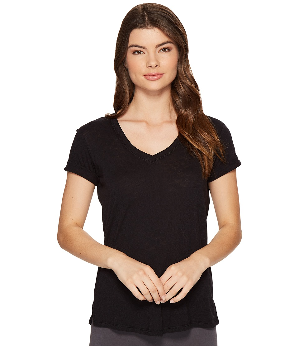 P.J. Salvage - Rockin Basic Tee (Black) Women's T Shirt