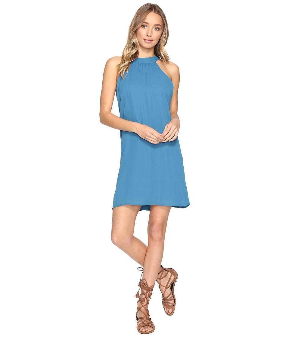 Lucy Love - Victoria Dress (Peacock Blue) Women's Dress