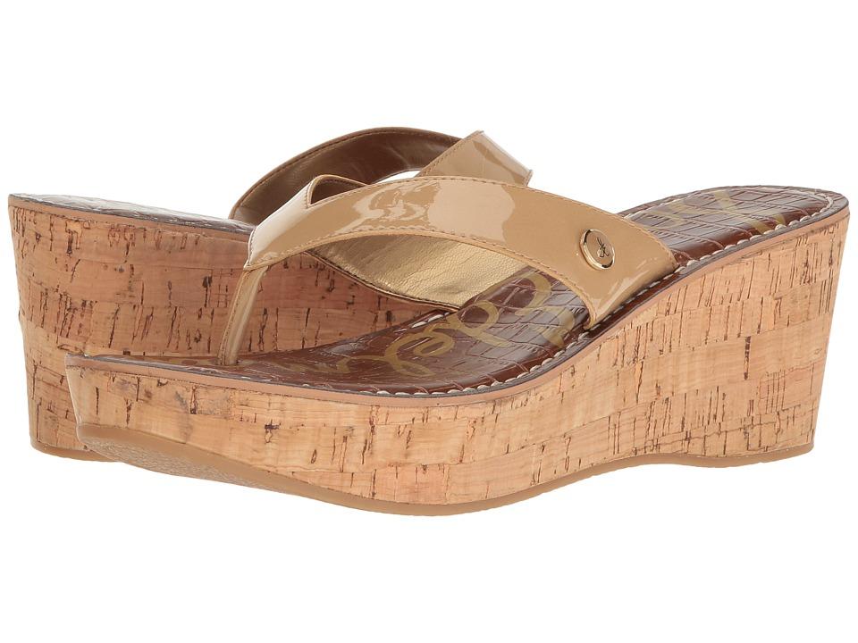 Sam Edelman - Romy (Almond Patent) Women's Wedge Shoes