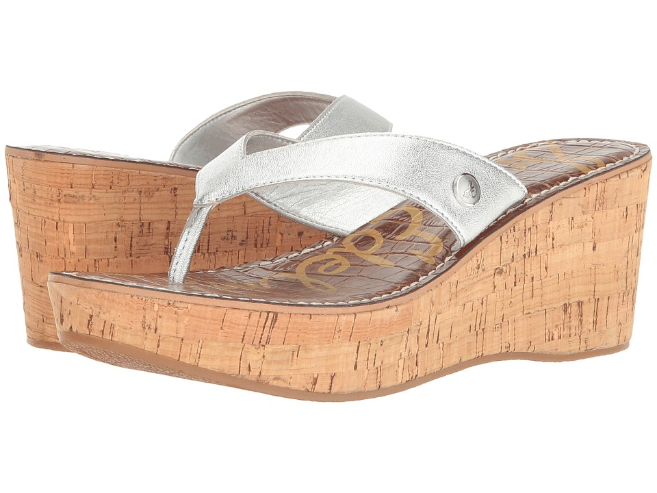 Sam Edelman - Romy (Silver Crom Metallic) Women's Wedge Shoes