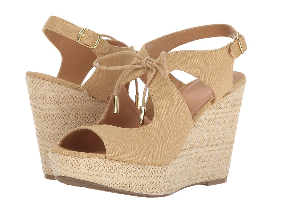 Fergalicious - Vicky (Beige) Women's Shoes