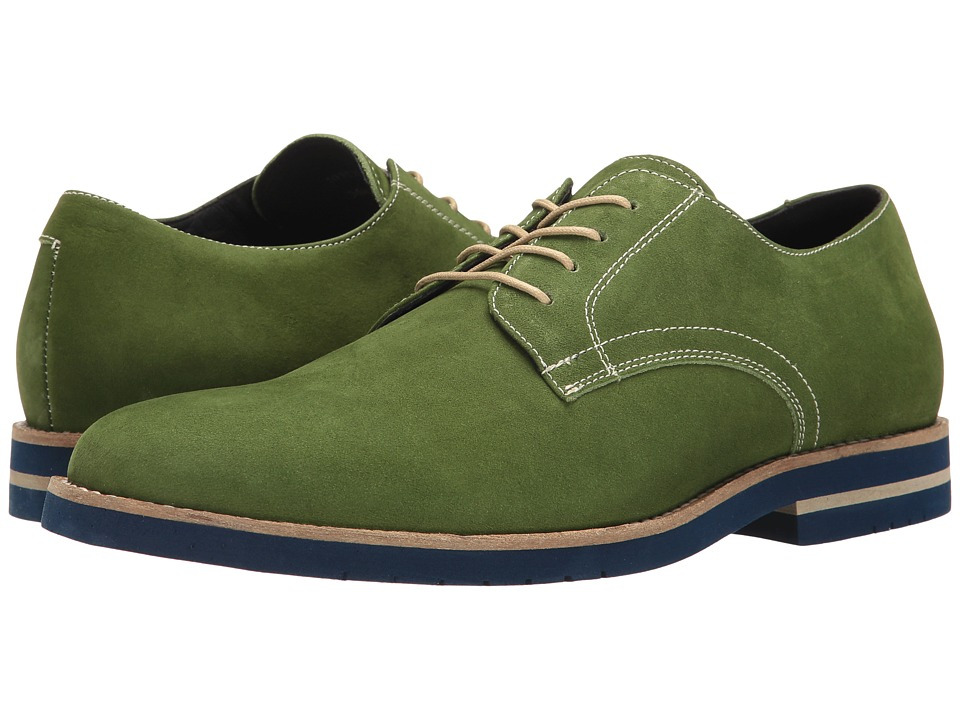 RUSH by Gordon Rush - Toby (Green) Men's Shoes