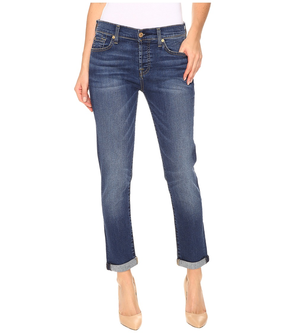 7 For All Mankind - Josefina in Medium Melrose (Medium Melrose) Women's Jeans