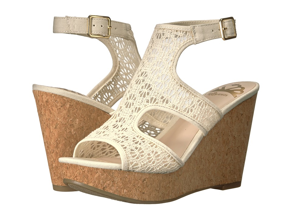 Fergalicious - Kendra (Cream) Women's Shoes
