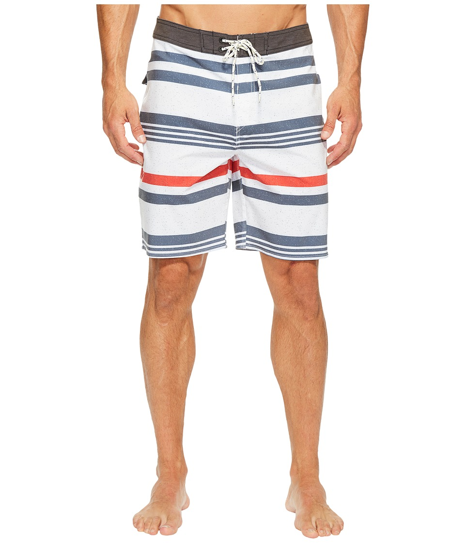 Rip Curl - Covine Boardshorts (White) Men's Swimwear