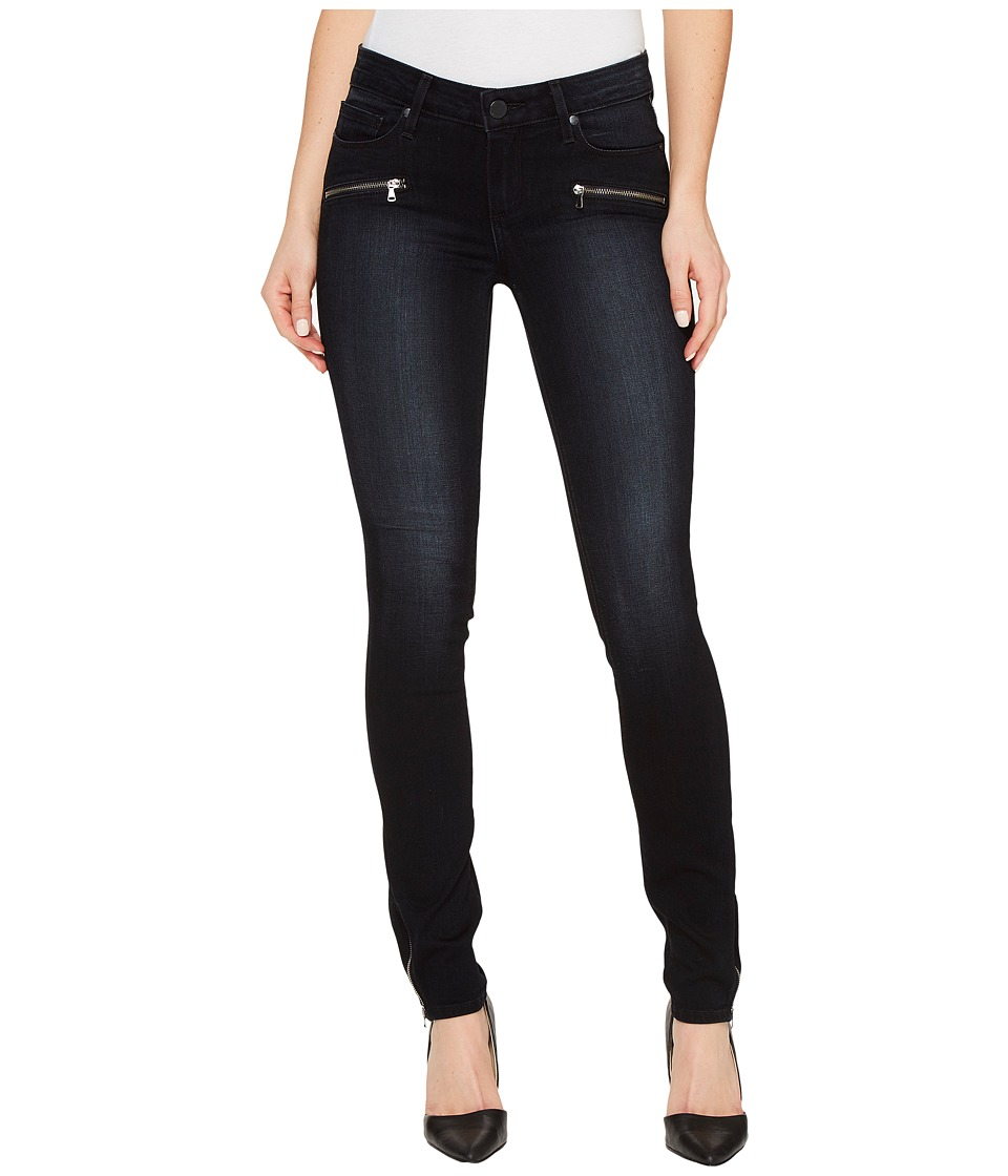 Paige Jill Zip Ultra Skinny in Cassidy No Whiskers (Cassidy No Whiskers) Women