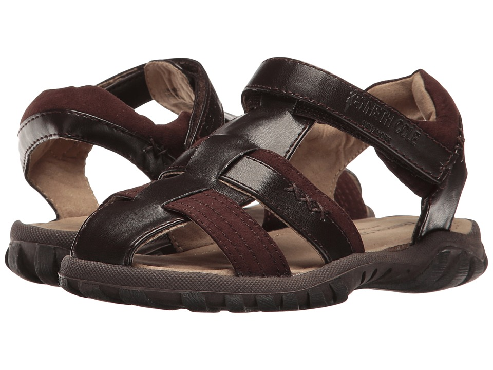 Kenneth Cole Reaction Kids - Ian Swim (Toddler) (Brown) Boy's Shoes