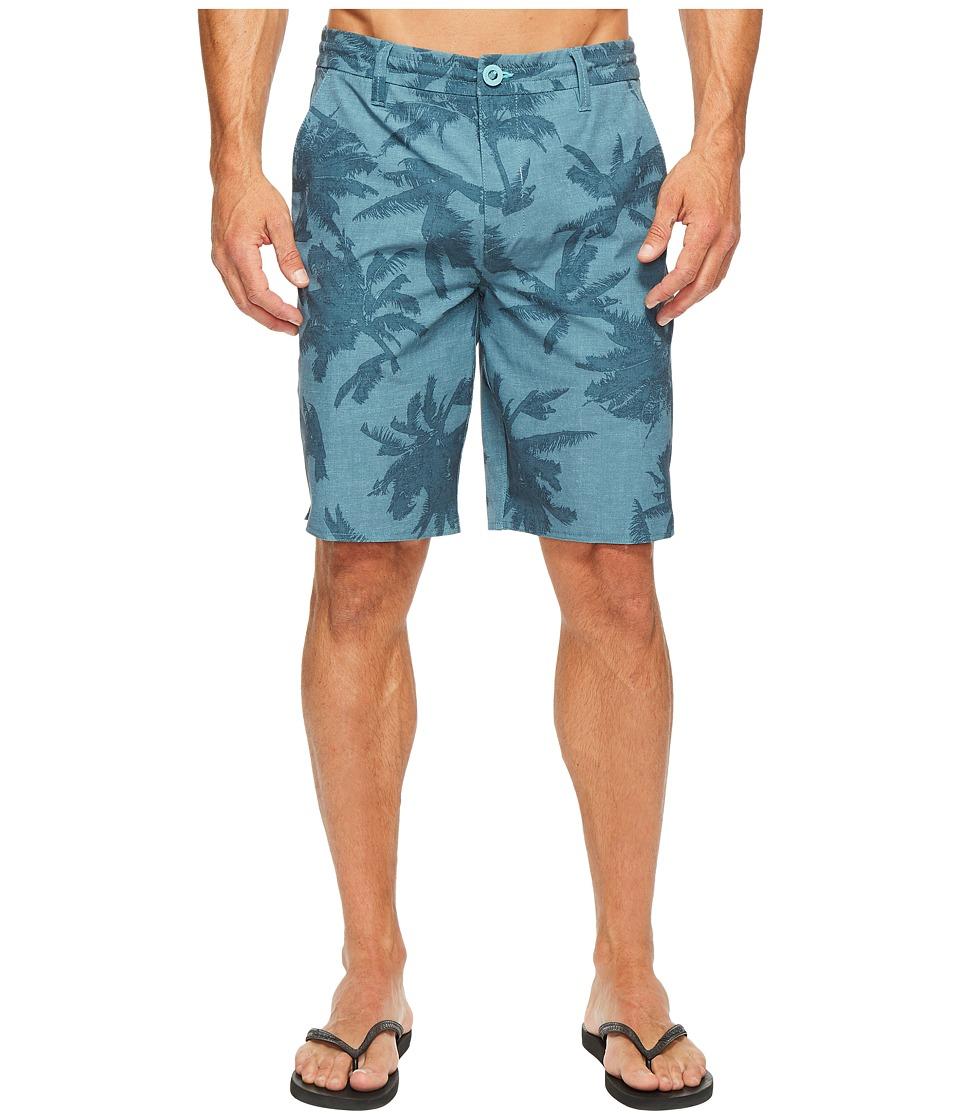 Rip Curl Mirage Palmtime Boardwalk Walkshorts (Aqua) Men