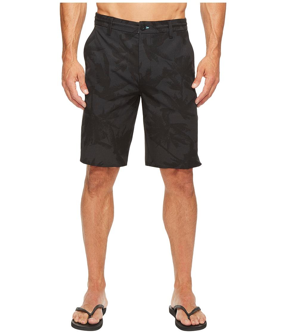 Rip Curl Mirage Palmtime Boardwalk Walkshorts (Black) Men