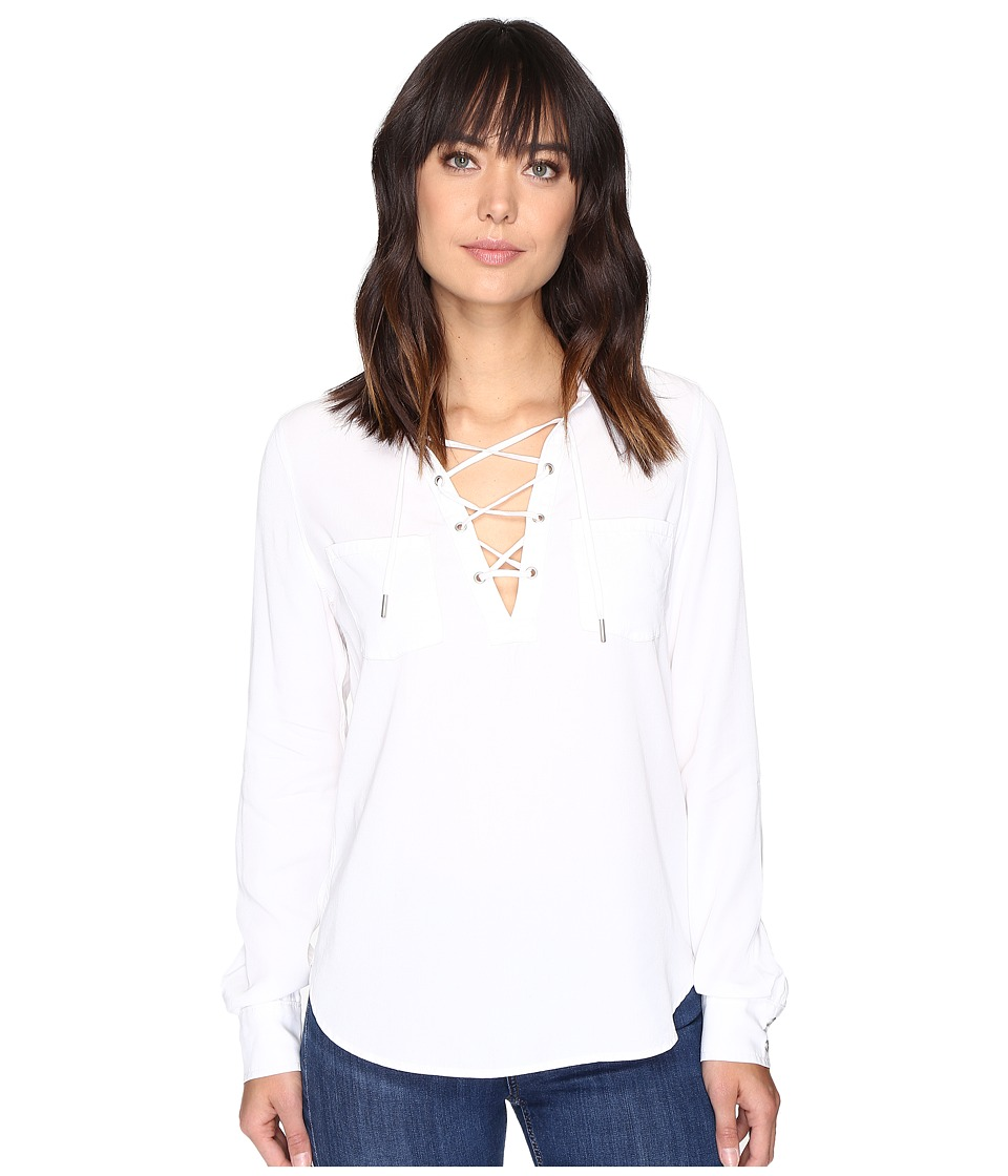 Paige - Billie Shirt (White) Women's Clothing