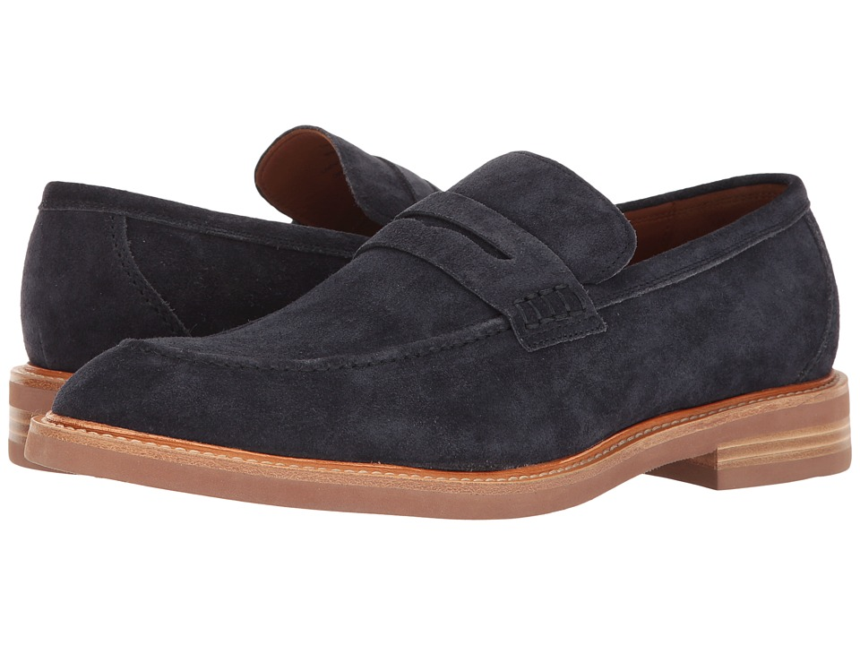 Gordon Rush - Carter (Navy Suede) Men's Slip on Shoes