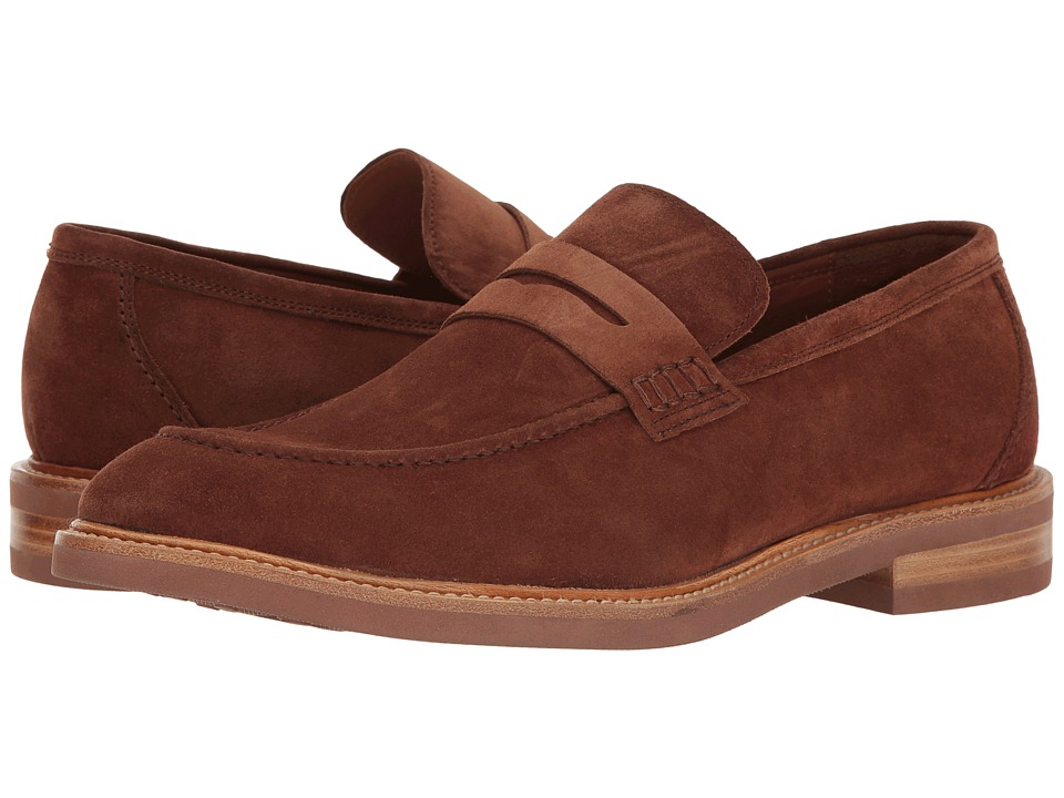 Gordon Rush - Carter (Tobacco Suede) Men's Slip on Shoes