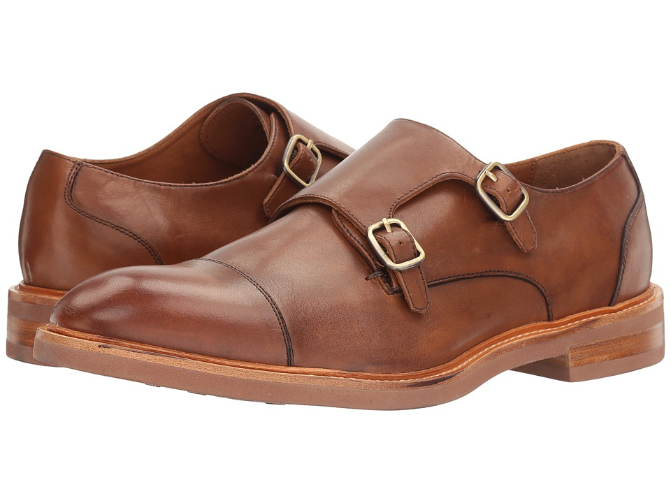 Gordon Rush - Peyton (Cognac) Men's Slip on Shoes