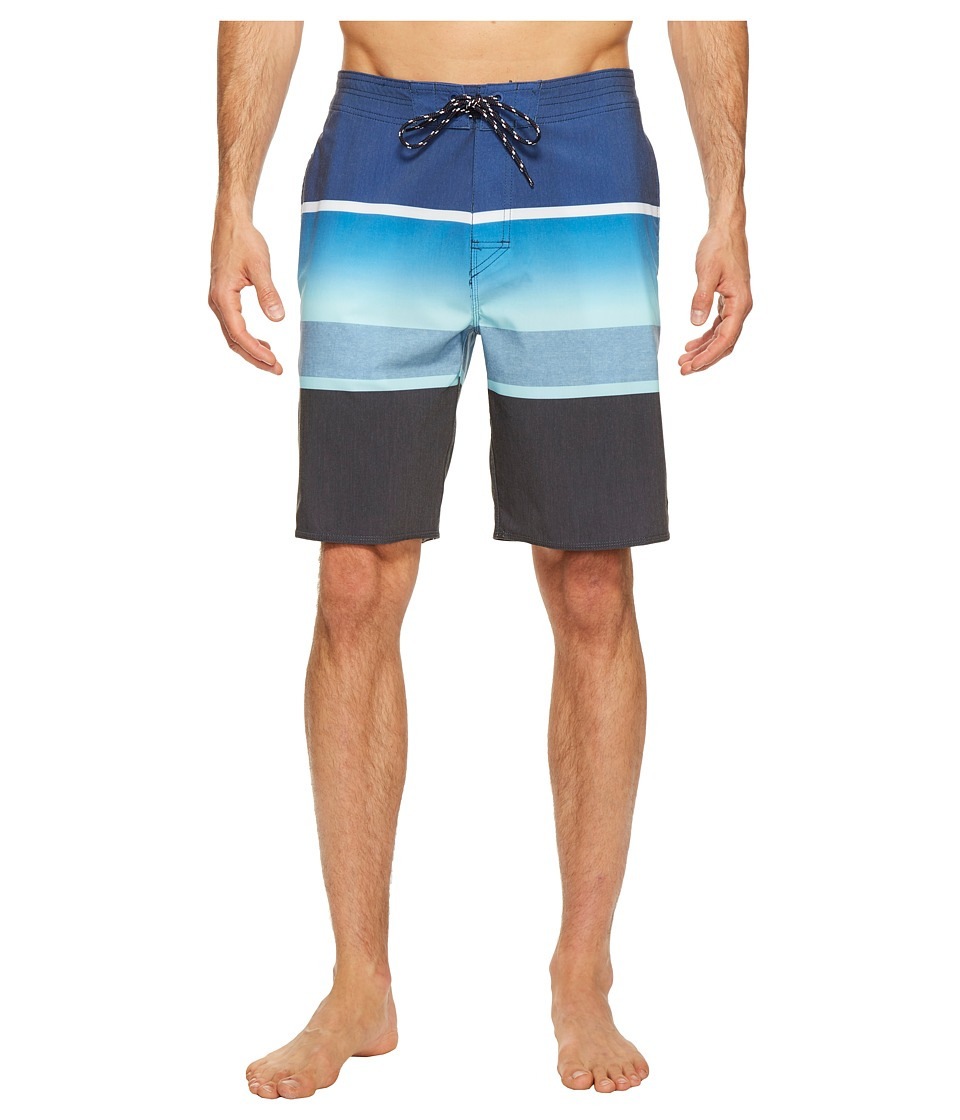 Rip Curl - Rapture Fade Layday Boardshorts (Blue) Men's Swimwear