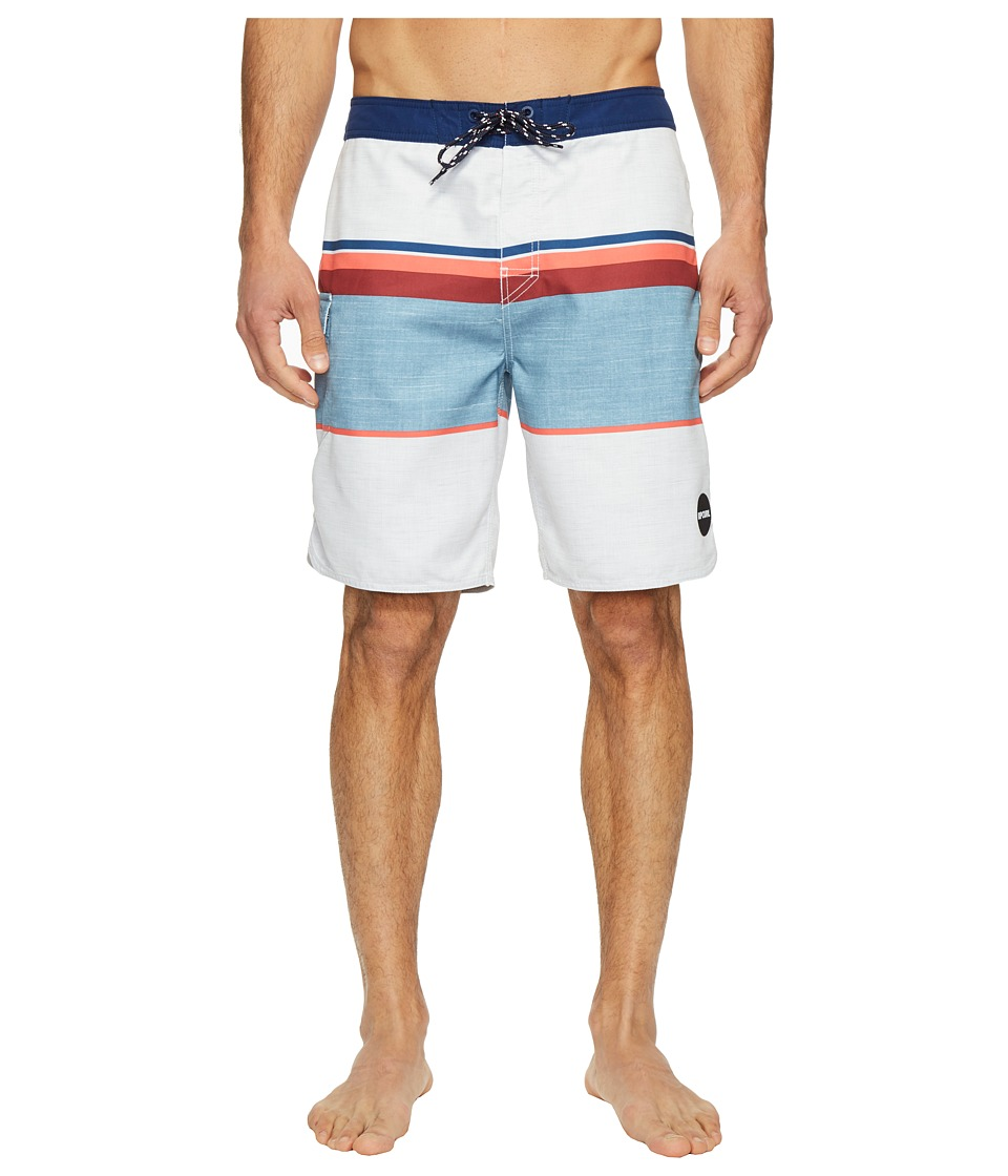 Rip Curl - Alltime Boardshorts (White) Men's Swimwear