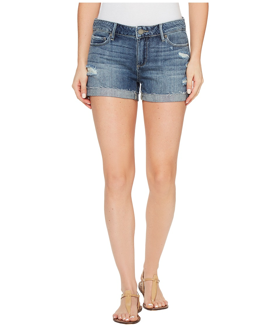 Paige - Jimmy Jimmy Shorts with Raw Hem in Alta Destructed (Alta Destructed) Women's Shorts