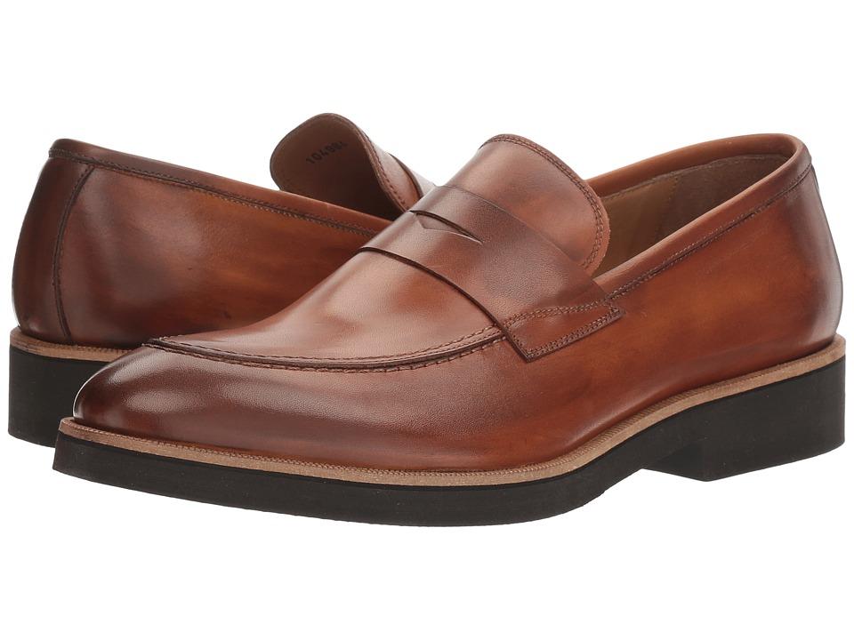 Gordon Rush - Benjamin (Cuoio) Men's Slip on Shoes